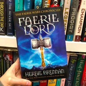 Faerie Lord by Herbie Brennan YA Book